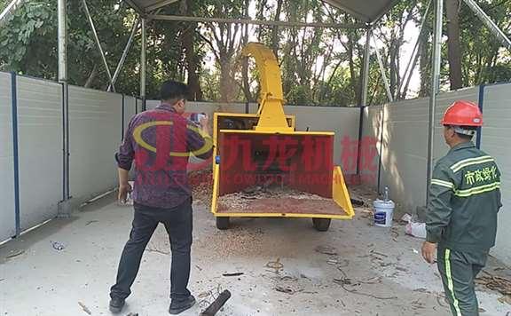 移动式木材粉碎机