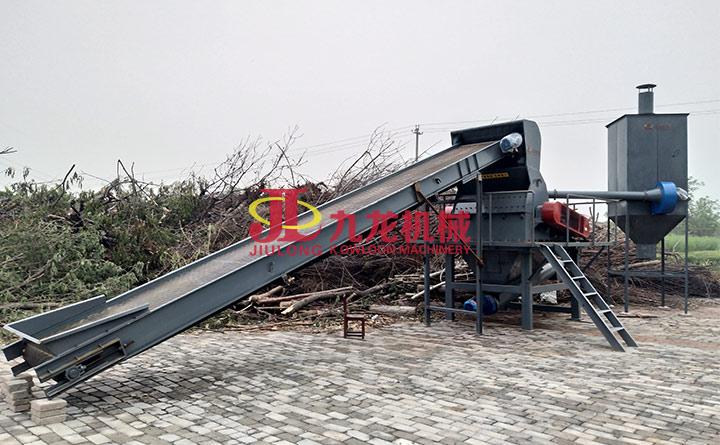 木材粉碎机