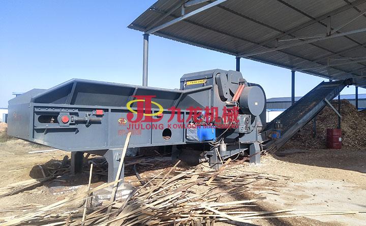 大型树枝粉碎机