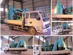 江西新余1000型木材粉碎机发货现场
