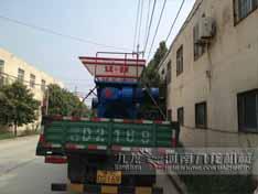 河南洛阳1500型撕碎机发货现场