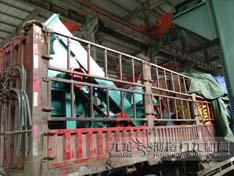 安徽客户订购1000型复合式粉碎机发货现场图