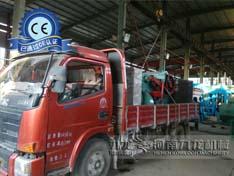 上海奉贤区订购的粉碎机及216鼓式削片机今天正在发出