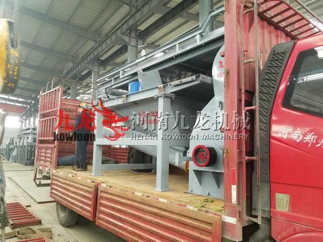 发往湖南邵阳重型木材粉碎机
