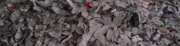废纸撕碎机物料撕碎后